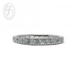 แหวนเงินผู้หญิง เงินแท้ เพชรสังเคราะห์ cz เกรด AAA เหมาะเป็นของขวัญในวันพิเศษ แหวนแมั้น แหวนแต่งงาน