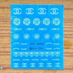สติ๊กเกอร์ติดเล็บ DLS290