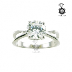 แหวนเงินแท้ แหวนเพชรCZ สวยอย่างมีสไตล์