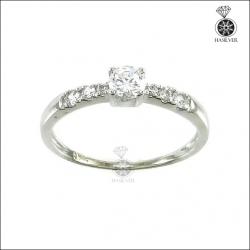 แหวนเพชรCZ เล็กๆ น่ารักๆ ใส่ติดนิ้ว