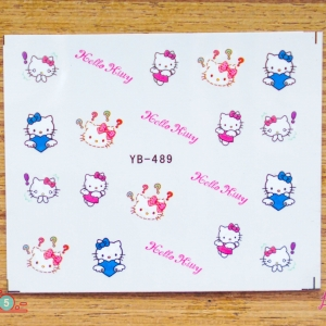 สติ๊กเกอร์ติดเล็บ YB489