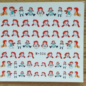 สติ๊กเกอร์ติดเล็บ M+506