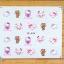 สติ๊กเกอร์ติดเล็บ YB483 thumbnail 1