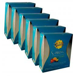 อาหารเสริมลดน้ำหนัก (ยาลดความอ้วน) สมุนไพรดีท็อก เอสพริ้ว 6 กล่อง