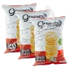 3x Brown Rice Snack Spicy Barbecue Grainey