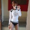 [พร้อมส่ง]BKN-023 ชุดว่ายน้ำแขนยาว เซ็ต 3 ชิ้น เสื้อแขนยาว+บรา+บิกินี่