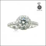 แหวนเงินแท้ แหวนเพชรCZ แหวนเพชรสวิส