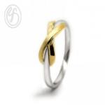 แหวนเงินเกลี้ยง เงินแท้ 92.5% ชุบทองคำขาว ทำลายขนแมวและชุบทองคำแท้ เหมาะเป็นของขวัญในวันพิเศษให้คนพิเศษของคุณ