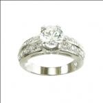 แหวนเพชรCZ ผู้หญิง