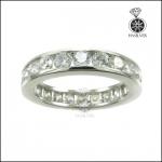 แหวนเงินแท้ แหวนเพชรCZ แหวนเพชรรอบนิ้ว