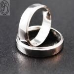 แหวนคู่รัก เงินเกลี้ยง เงินแท้ 925 เหมาะเป็นของขวัญในวันพิเศษ