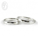 แหวนคู่รัก เงินเกลี้ยง เงินแท้ 92.5% เหมาะเป็นของขวัญในวันพิเศษ