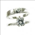 แหวนเพชรCZ คู่รัก