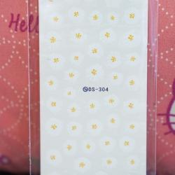 สติ๊กเกอร์ติดเล็บ DS304