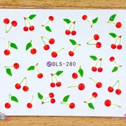 สติ๊กเกอร์ติดเล็บ DLS280