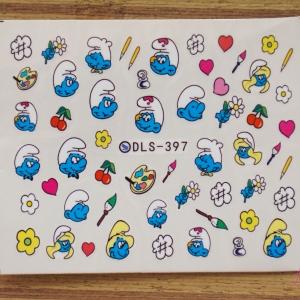 สติ๊กเกอร์ติดเล็บ DLS397