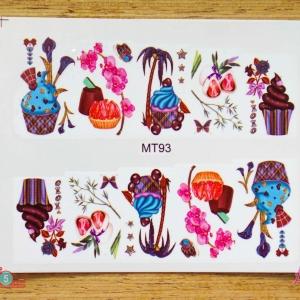 สติ๊กเกอร์ติดเล็บ MT93
