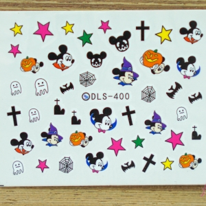 สติ๊กเกอร์ติดเล็บ DLS400