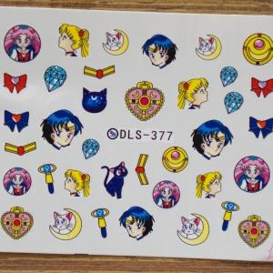 สติ๊กเกอร์ติดเล็บ DLS377