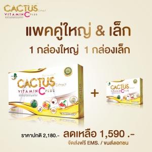 Cactus C Plus แพคคู่กล่องใหญ่ & กล่องเล็ก
