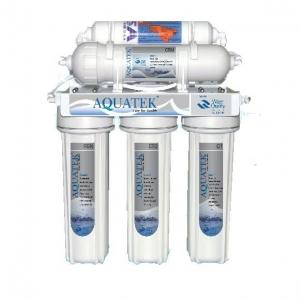 เครื่องกรองน้ำ 5 ขั้นตอน RO. 50G.ยี่ห้อ Aquatek USA.