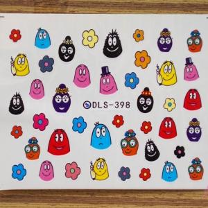 สติ๊กเกอร์ติดเล็บ DLS398