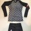 [พร้อมส่ง]BKN-798 ชุดว่ายน้ำแขนยาวสีดำลายจุดขาว แขนสกรีนลาย (เสื้อ+กางเกง) ผู้หญิง thumbnail 9