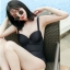 ชุดว่ายน้ำวันพีชสีดำ สายไขว้หลังสวยเซ็กซี่ thumbnail 4