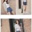 เสื้อคลุมแฟชั่น ผ้าชีฟองเนื้อทราย แขนยาว ปลายจั๊ม สีเทาและสีฟ้า thumbnail 2