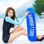 ชุดว่ายน้ำแขนยาวกัน UV ทูพีช มีฟองน้ำเสริม+ช่องสามารถถอดเสริมฟองน้ำได้ เสื้อเป็นแบบสวม thumbnail 2