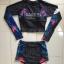 ชุดว่ายน้ำแขนยาว กางเกงเอวสูง สีดำแต่งลาย thumbnail 2