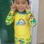 ชุดว่ายน้ำเด็ก สีเหลือง แขนยาวใส่ได้ทั้งเด็กผู้หญิงละผู้ชาย พร้อมส่ง thumbnail 2