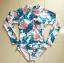 [พร้อมส่ง]BKN-531 ชุดว่ายน้ำแขนยาว ลายสวยๆ thumbnail 4