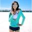 [พร้อมส่ง]BKN-529 ชุดว่ายน้ำแขนยาว เซ็ต 3 ชิ้น บราขาว+แขนยาวฟ้า+กก.ขาสั้นน้ำเงิน thumbnail 1