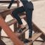 ชุดว่ายน้ำขายาว-แขนยาว เซ็ต 5 ชิ้น ขาวดำ บราสีชมพู+กกน.+ขาสั้น+ขายาว+เสื้อแขนยาว thumbnail 9