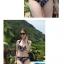 ชุดว่ายน้ำบิกินี่ทูพีช สีน้ำเงินแต่งลายธงสวยๆ thumbnail 2