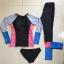 [พร้อมส่ง]BKN-022 ชุดว่ายน้ำแขนยาวขายาว หลากสีสันสวยๆ thumbnail 6