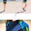ชุดว่ายน้ำแขนยาว เสื้อน้ำเงินกรมท่า กางเกงขาสั้นตัดขอบเขียวสะท้อนแสง palm leaf thumbnail 4
