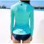 [พร้อมส่ง]BKN-529 ชุดว่ายน้ำแขนยาว เซ็ต 3 ชิ้น บราขาว+แขนยาวฟ้า+กก.ขาสั้นน้ำเงิน thumbnail 5