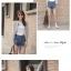 เสื้อคลุมแฟชั่น ผ้าชีฟองเนื้อทราย แขนยาว ปลายจั๊ม สีเทาและสีฟ้า thumbnail 5
