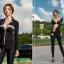 ชุดว่ายน้ำขายาว-แขนยาว สีดำ เซ็ต 4 ชิ้น thumbnail 5