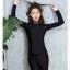 ชุดว่ายน้ำแขนยาว+ขายาว สีดำ เซ็ต 3 ชิ้น thumbnail 8