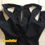 [พร้อมส่ง]BKN-472 ชุดว่ายน้ำแขนยาว วันพีชสีดำ คอจีน เปิดไหล่ สวยๆ thumbnail 8