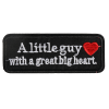 M0013 A little guy with a great big heart 10.8x4cm