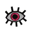 S0014 Pink Eye 6.5cmx6.5cm