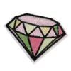 S0037 Beauty Colorful Diamond 6.0cmx4.5cm