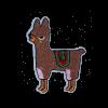 M0128 Brown Alpaca 4.7x6.1cm