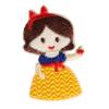 S0054 Snow White Disney Princess Patch 4x6.2cm