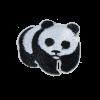 M0115 Mini Panda 4.3x3.6cm