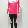 ชุดปั่นจักรยานผู้หญิงยาว : XP153010